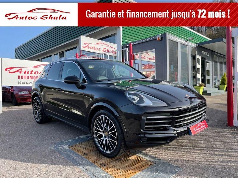 Porsche CAYENNE 3.0 340CH Essence NOIR Occasion à vendre