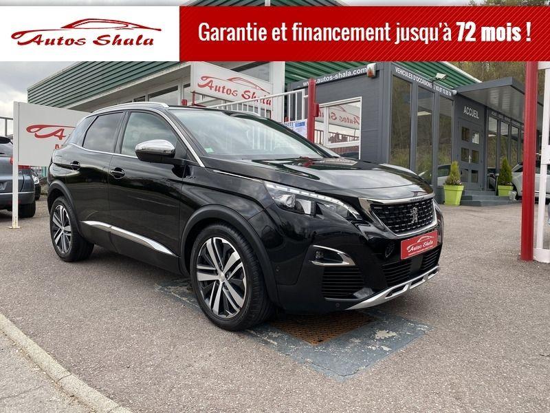 Peugeot 3008 2.0 BLUEHDI 180CH S&S GT EAT8 Diesel NOIR Occasion à vendre