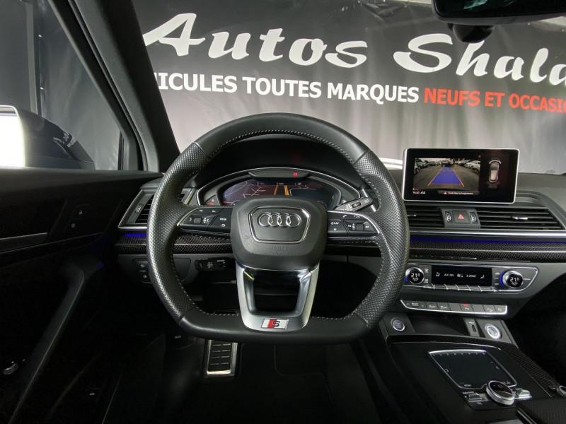 Photo 14 de l'offre de AUDI Q5 40 TDI 204CH S LINE QUATTRO S TRONIC 7 EURO6D-T à 54970€ chez Autos Shala