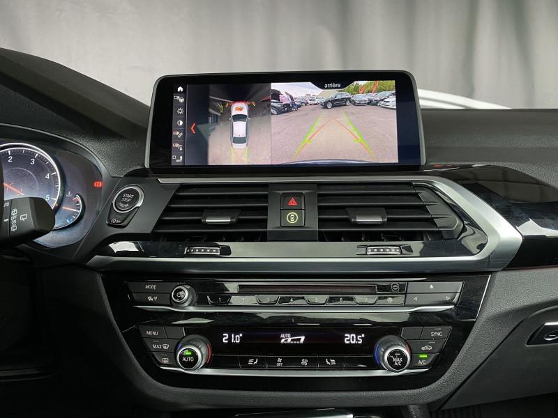 Photo 19 de l'offre de BMW X3 (G01) XDRIVE20DA 190CH XLINE EURO6C à 43970€ chez Autos Shala