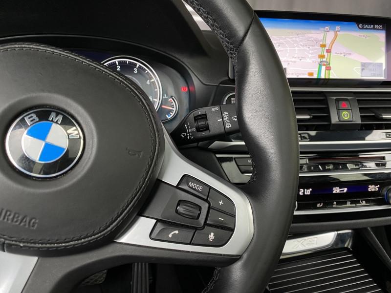 Photo 15 de l'offre de BMW X3 (G01) XDRIVE20DA 190CH XLINE EURO6C à 43970€ chez Autos Shala