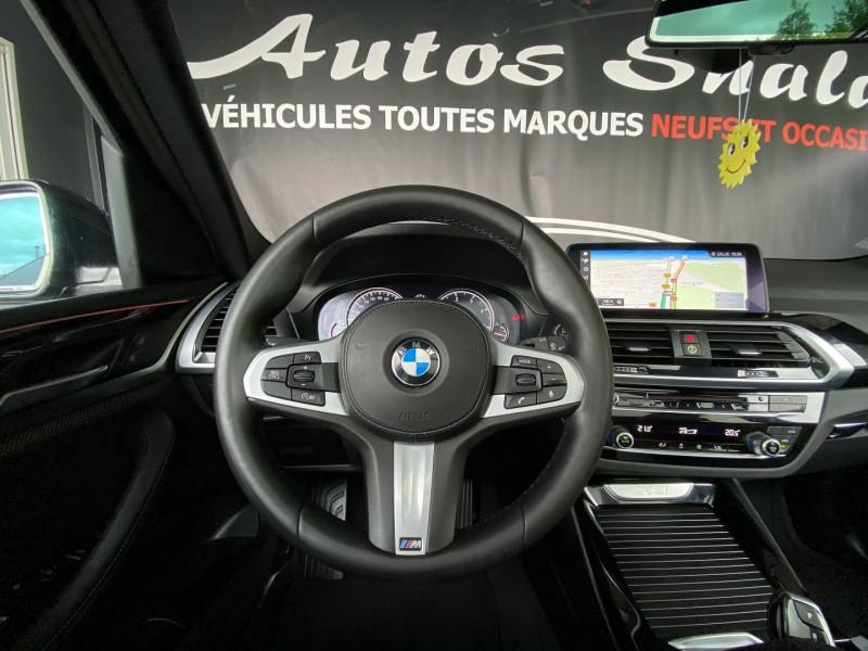 Photo 13 de l'offre de BMW X3 (G01) XDRIVE20DA 190CH XLINE EURO6C à 43970€ chez Autos Shala