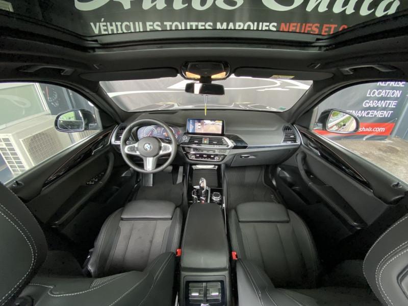 Photo 11 de l'offre de BMW X3 (G01) XDRIVE20DA 190CH XLINE EURO6C à 43970€ chez Autos Shala