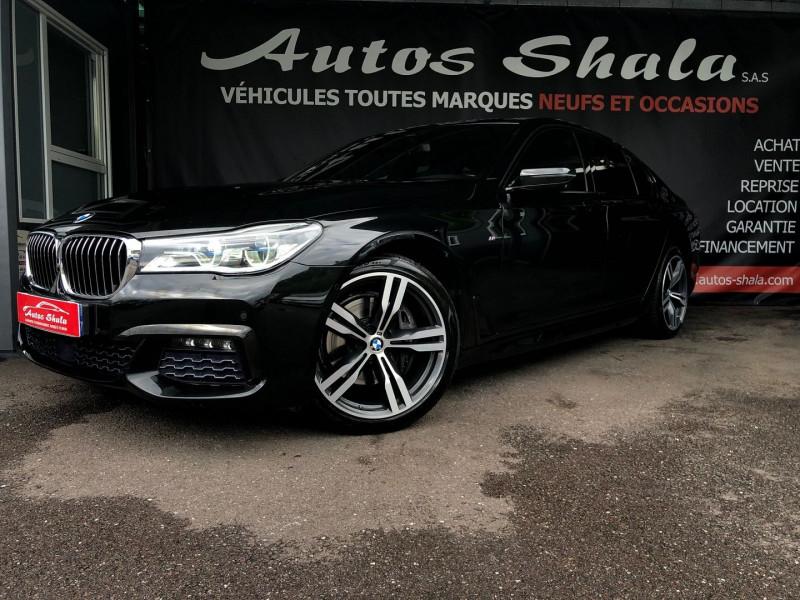 Photo 1 de l'offre de BMW SERIE 7 (G11/G12) 740DA XDRIVE 320CH M SPORT à 49970€ chez Autos Shala
