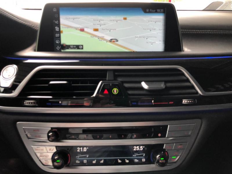 Photo 13 de l'offre de BMW SERIE 7 (G11/G12) 740DA XDRIVE 320CH M SPORT à 49970€ chez Autos Shala
