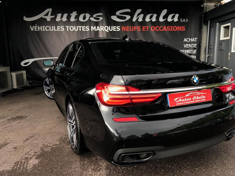 Photo 22 de l'offre de BMW SERIE 7 (G11/G12) 740DA XDRIVE 320CH M SPORT à 49970€ chez Autos Shala
