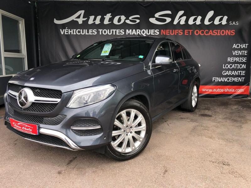 Mercedes-Benz GLE COUPE (C292) 350 D 258CH 4MATIC 9G-TRONIC Diesel GRIS Occasion à vendre