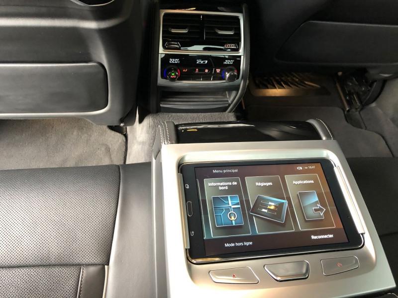 Photo 27 de l'offre de BMW SERIE 7 (G11/G12) 740DA XDRIVE 320CH M SPORT à 49970€ chez Autos Shala