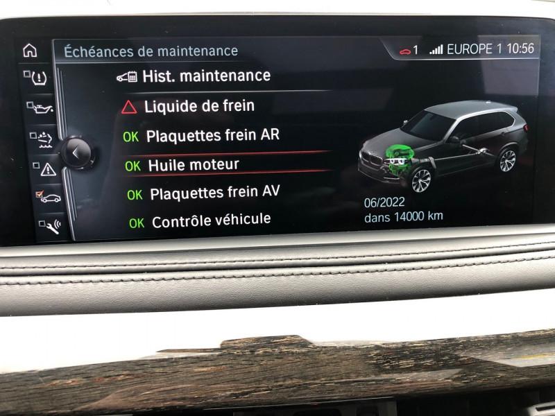 Photo 36 de l'offre de BMW X5 (F15) XDRIVE30DA 258CH EXCLUSIVE 7PLACES à 39970€ chez Autos Shala