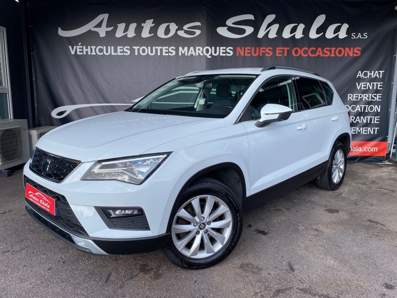 Seat ATECA 2.0 TDI 150CH START&STOP STYLE BUSINESS 4DRIVE Diesel BLANC Occasion à vendre
