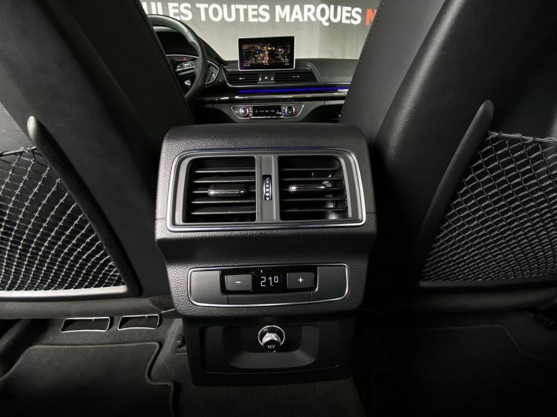 Photo 27 de l'offre de AUDI Q5 40 TDI 204CH S LINE QUATTRO S TRONIC 7 EURO6D-T à 52970€ chez Autos Shala