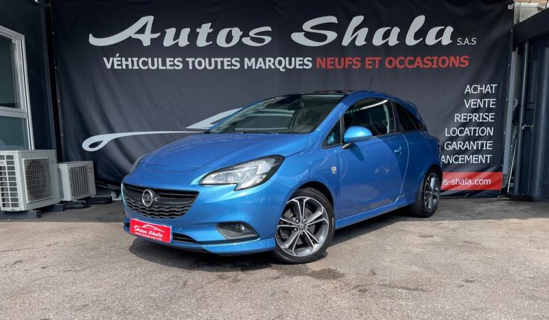 Opel CORSA 1.4 TURBO 150CH S START/STOP 3P Essence BLEU C Occasion à vendre