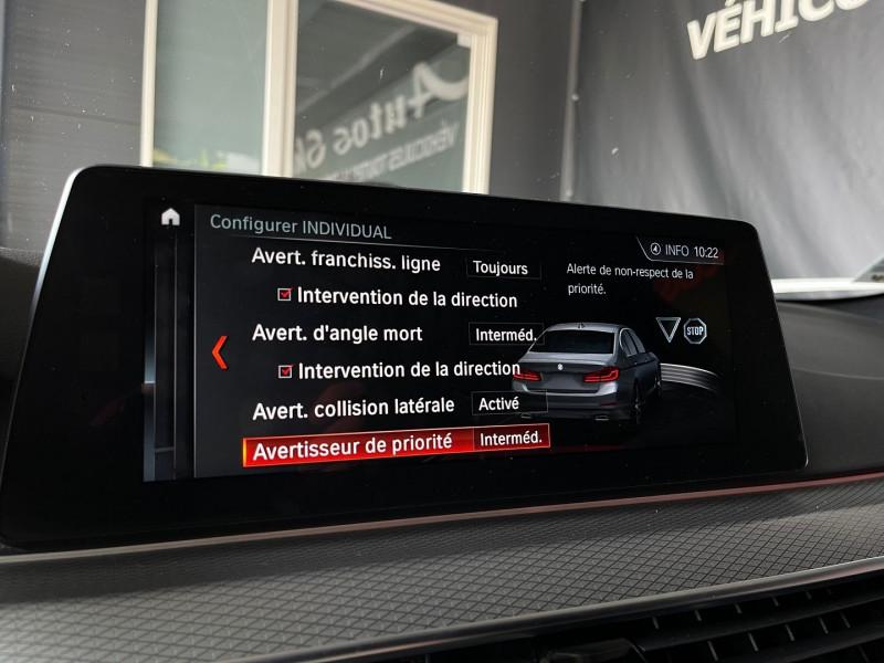 Photo 20 de l'offre de BMW SERIE 5 (G30) 530DA XDRIVE 265CH M SPORT STEPTRONIC à 41970€ chez Autos Shala