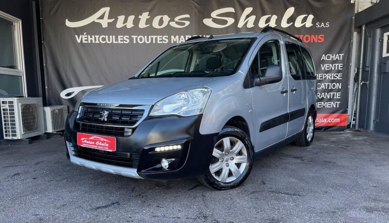 Peugeot PARTNER TEPEE 1.6 BLUEHDI 120CH OUTDOOR S&S Diesel GRIS C Occasion à vendre