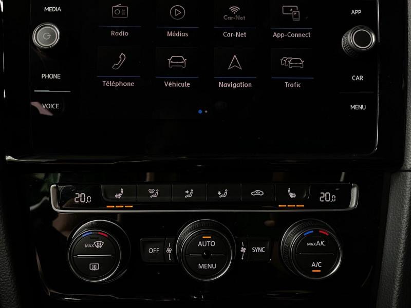 Photo 22 de l'offre de VOLKSWAGEN GOLF VII 2.0 TSI 310CH R 4MOTION DSG7 3P à 35970€ chez Autos Shala