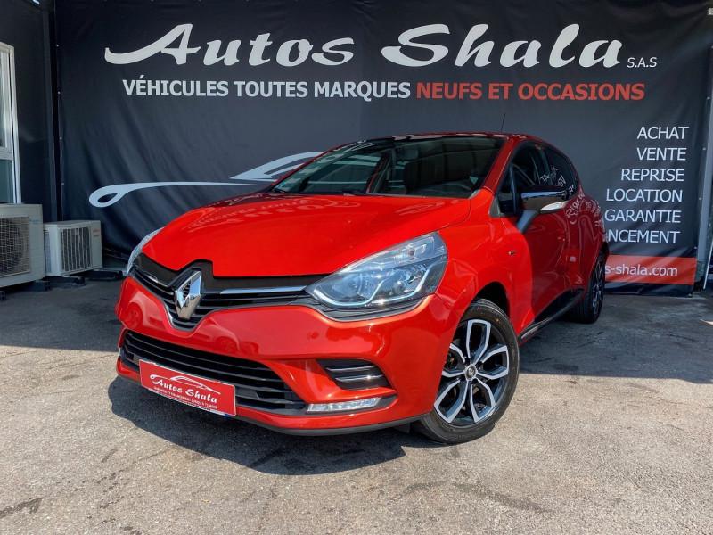 Renault CLIO IV 0.9 TCE 90CH LIMITED 5P Essence ROUGE Occasion à vendre