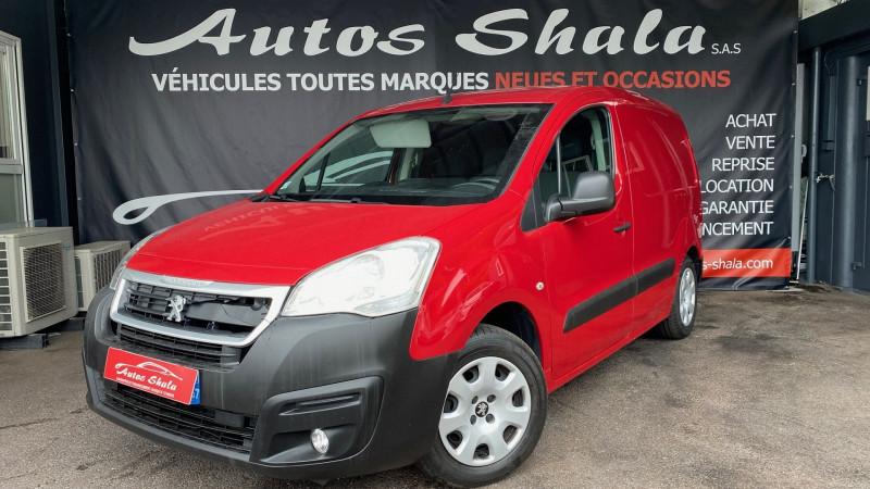 Peugeot PARTNER STANDARD 1.6 BLUEHDI 120CH S&S PREMIUM PACK Diesel ROUGE Occasion à vendre