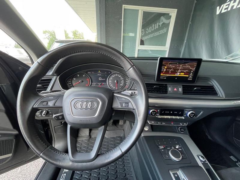 Photo 9 de l'offre de AUDI Q5 2.0 TDI 190CH BUSINESS EXECUTIVE QUATTRO S TRONIC 7 à 34970€ chez Autos Shala