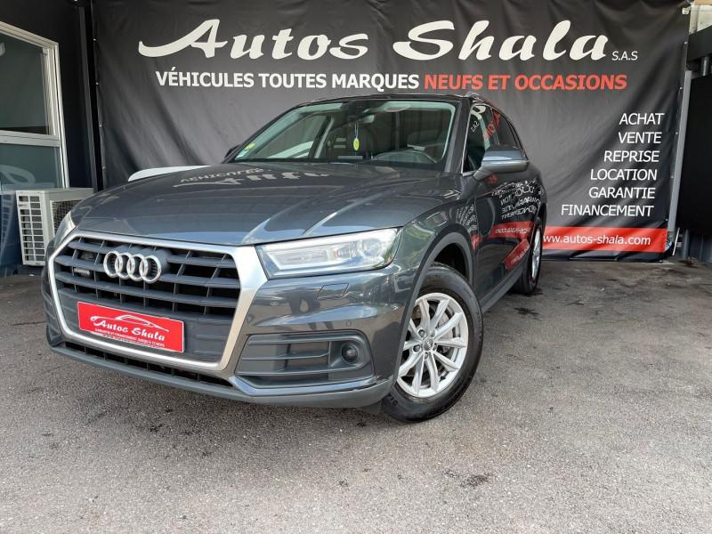 Audi Q5 2.0 TDI 190CH BUSINESS EXECUTIVE QUATTRO S TRONIC 7 Diesel GRIS F Occasion à vendre