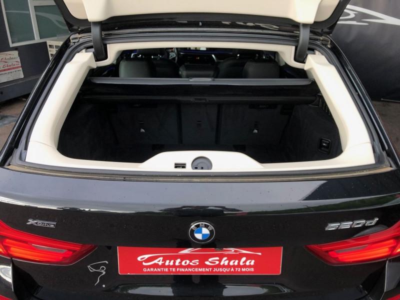 Photo 14 de l'offre de BMW SERIE 5 TOURING (G31) 520DA 190CH LUXURY EURO6D-T à 39970€ chez Autos Shala