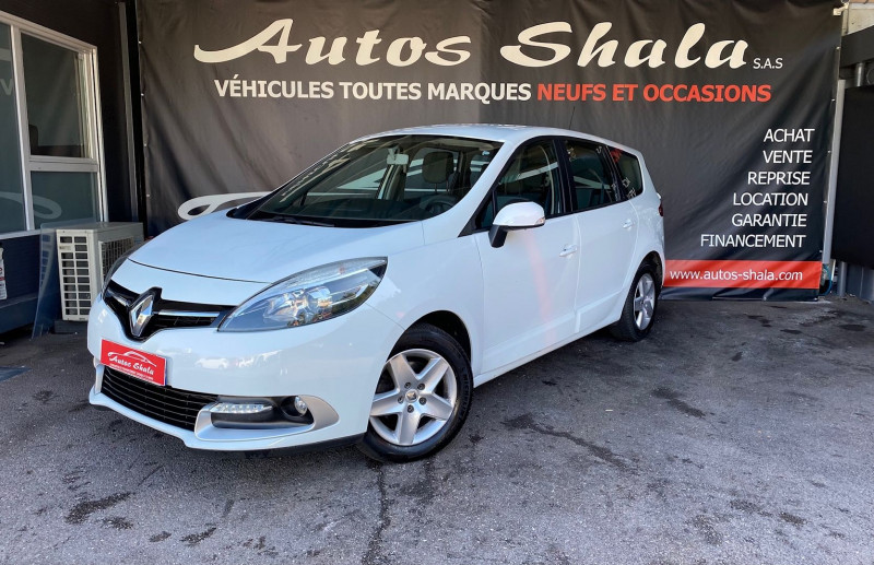 Renault GRAND SCENIC III 1.5 DCI 110CH ENERGY LIFE ECO² 5 PLACES 2015 Diesel BLANC Occasion à vendre