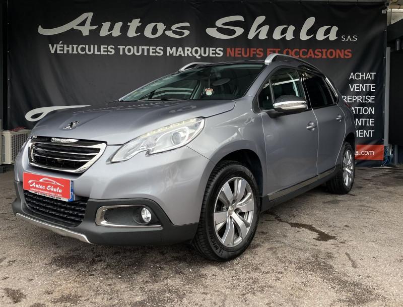 Peugeot 2008 1.6 BLUEHDI 100CH ALLURE BUSINESS S&S Diesel GRIS F Occasion à vendre