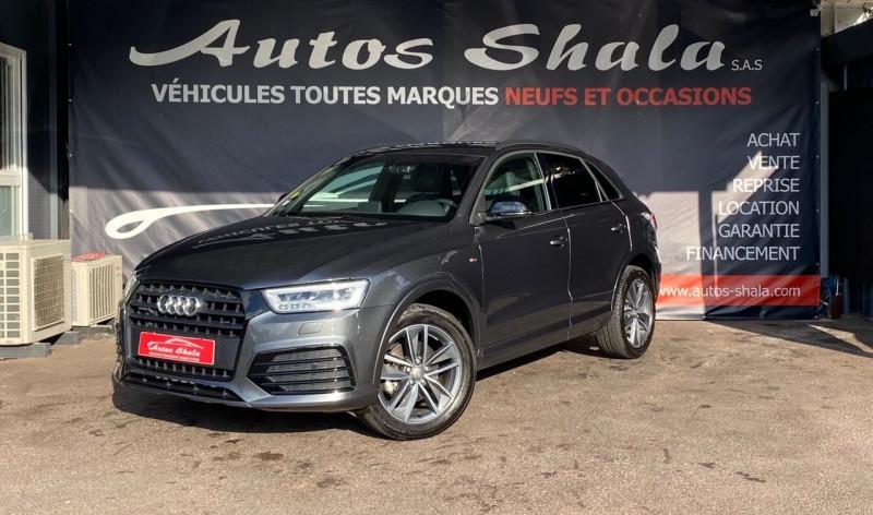 Audi Q3 35 TDI 150CH LIMITED QUATTRO Diesel GRIS F Occasion à vendre