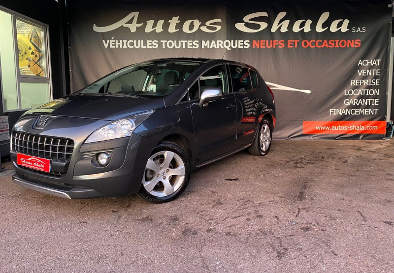 Peugeot 3008 1.6 HDI112 FAP ALLURE Diesel GRIS F Occasion à vendre