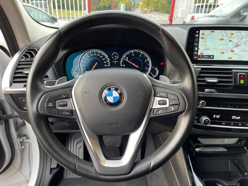 Photo 12 de l'offre de BMW X3 (G01) XDRIVE20DA 190CH XLINE à 36970€ chez Autos Shala