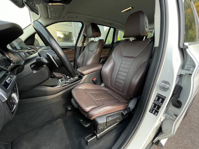 Photo 18 de l'offre de BMW X3 (G01) XDRIVE20DA 190CH XLINE à 36970€ chez Autos Shala