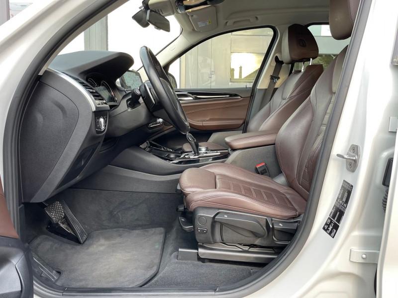 Photo 10 de l'offre de BMW X3 (G01) XDRIVE20DA 190CH XLINE à 36970€ chez Autos Shala