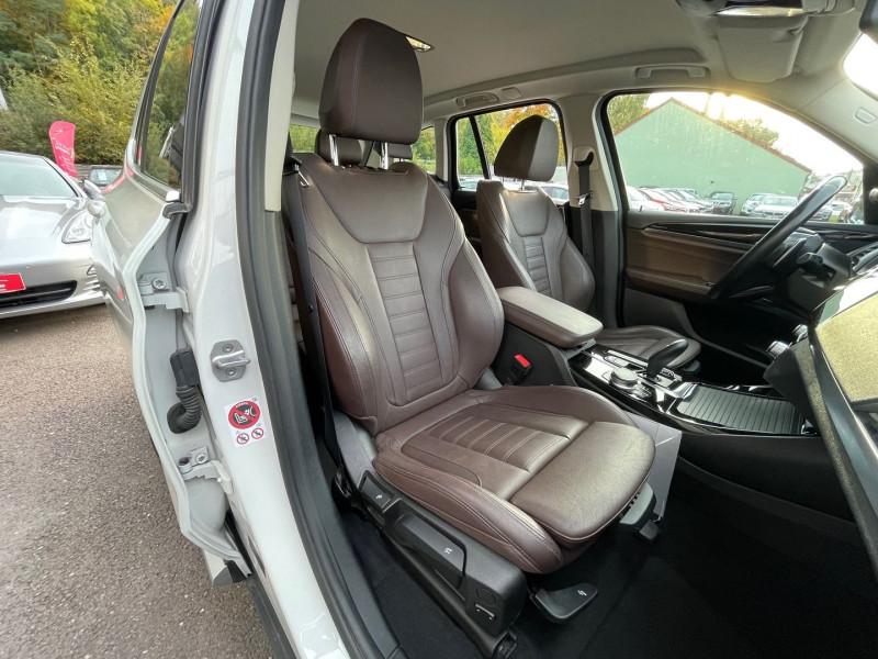 Photo 21 de l'offre de BMW X3 (G01) XDRIVE20DA 190CH XLINE à 36970€ chez Autos Shala
