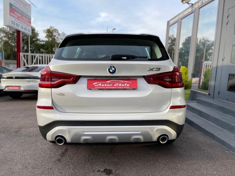 Photo 3 de l'offre de BMW X3 (G01) XDRIVE20DA 190CH XLINE à 36970€ chez Autos Shala