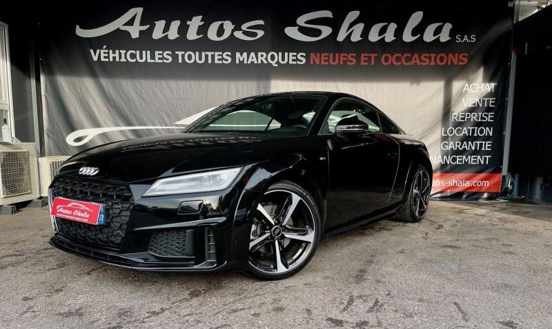 Audi TT 40 TFSI 197CH S LINE S TRONIC 7 132G Essence NOIR Occasion à vendre