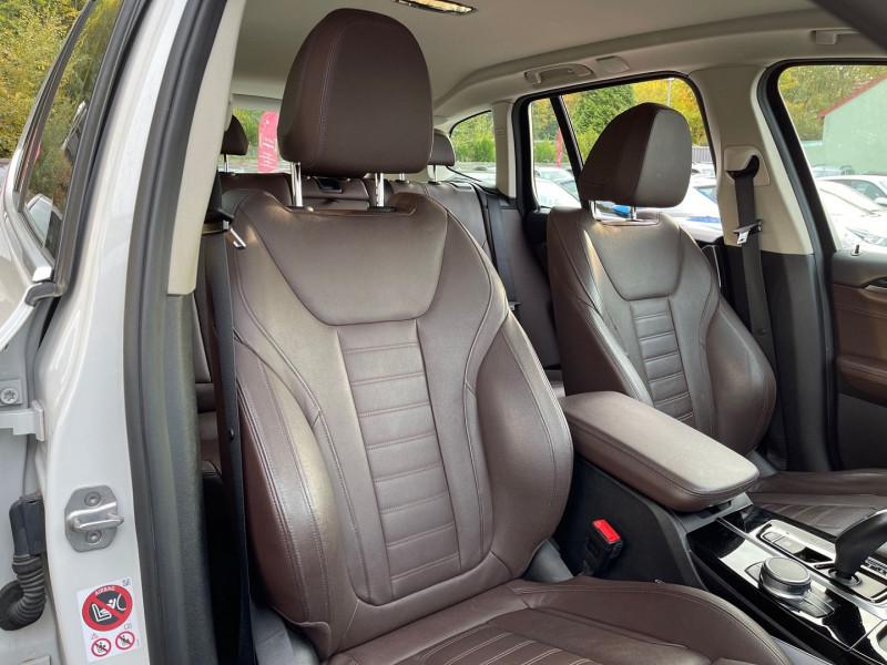 Photo 22 de l'offre de BMW X3 (G01) XDRIVE20DA 190CH XLINE à 36970€ chez Autos Shala