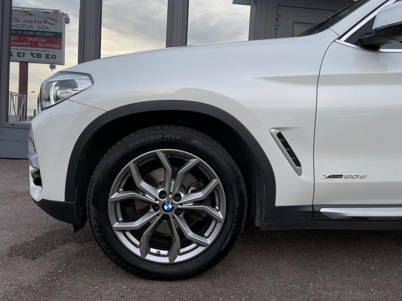 Photo 6 de l'offre de BMW X3 (G01) XDRIVE20DA 190CH XLINE à 36970€ chez Autos Shala