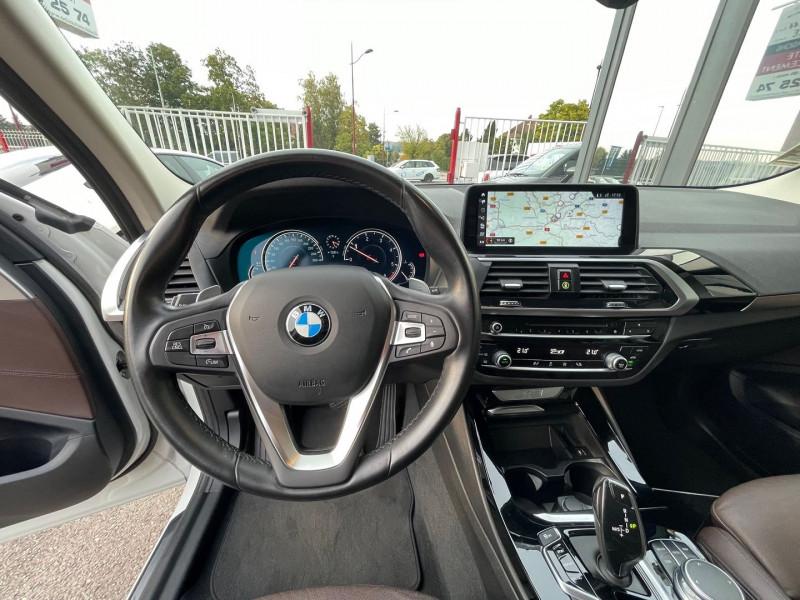 Photo 11 de l'offre de BMW X3 (G01) XDRIVE20DA 190CH XLINE à 36970€ chez Autos Shala
