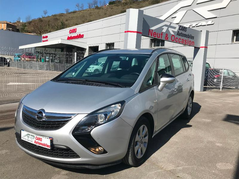 Opel Zafira Tourer 1.6 CDTI 120ch ecoFLEX Business Connect Start/Stop 7 places Diesel Gris Clair Métal Occasion à vendre