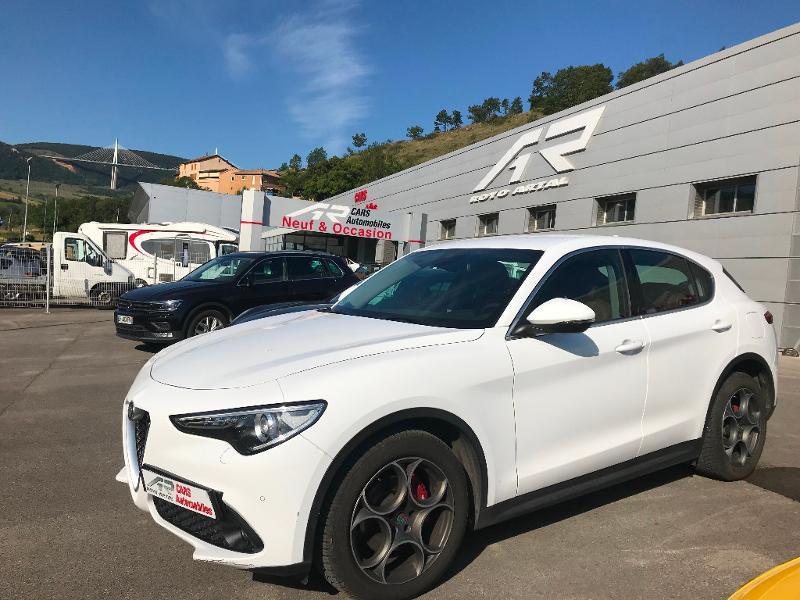 Alfa Romeo Stelvio 2.2 Diesel 180ch Super AT8 Diesel Blanc Métal Occasion à vendre