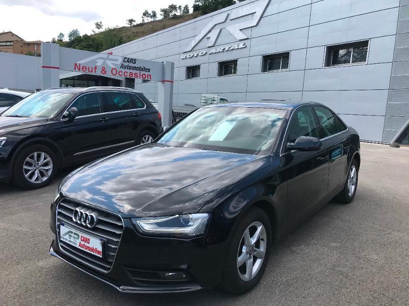 Audi A4 2.0 TDI 177ch DPF Business line Multitronic Diesel Noir Occasion à vendre