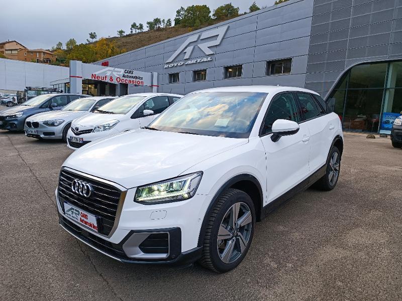 Audi Q2 35 TDI 150ch Design luxe S tronic 7 Euro6d-T Diesel Blanc Métal Occasion à vendre
