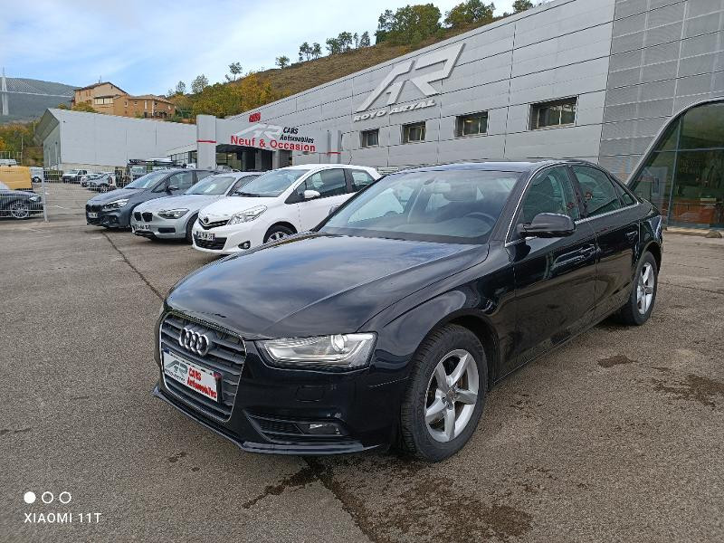 Audi A4 2.0 TDI 177ch DPF Business line Multitronic Diesel Noir Métal Occasion à vendre