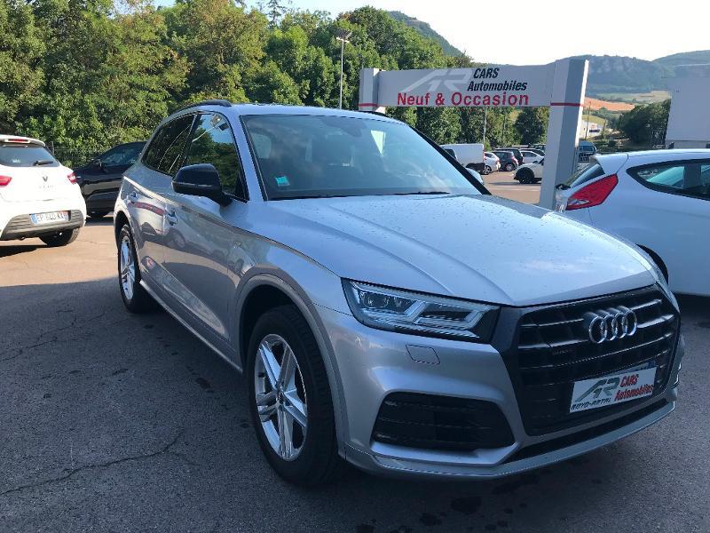 Audi Q5 40 TDI 190ch S line quattro S tronic 7 Euro6d-T Diesel Gris Clair Métal Occasion à vendre