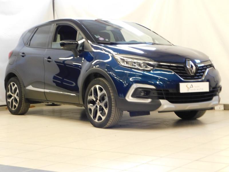 Renault Captur 1.3 TCe 130ch FAP Intens Essence BLEU C Occasion à vendre