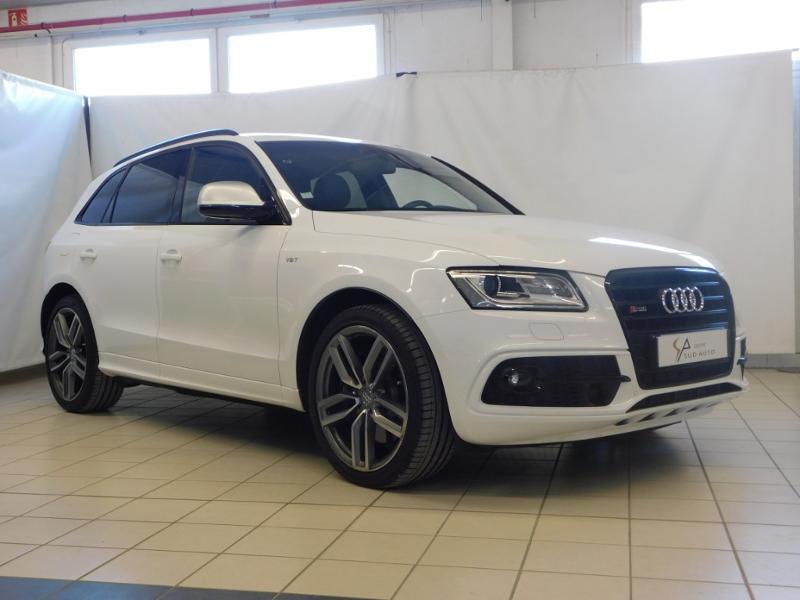 Audi SQ5 3.0 V6 BiTDI 326ch quattro Tiptronic Diesel blanc Occasion à vendre