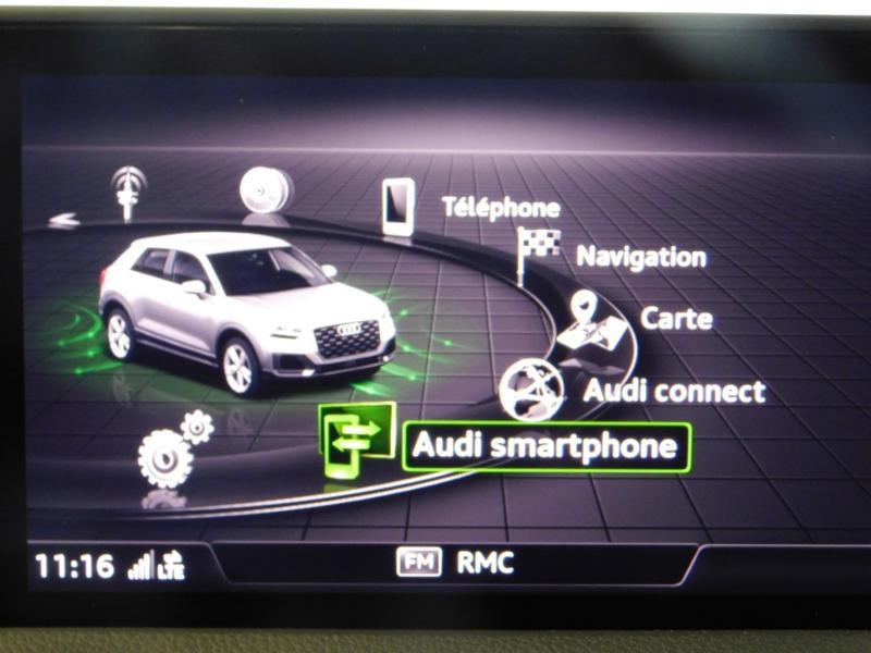 Photo 22 de l'offre de AUDI Q2 1.0 TFSI 116ch S line à 25900€ chez Autovia Véhicules Multimarques