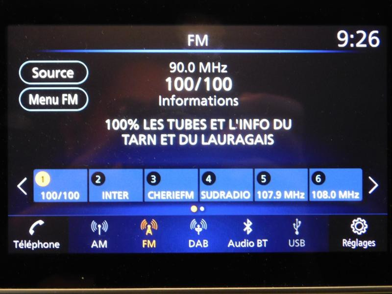 Photo 22 de l'offre de NISSAN Micra 0.9 IG-T 90ch Made In France 3 2018 Euro6c à 15490€ chez Autovia Véhicules Multimarques