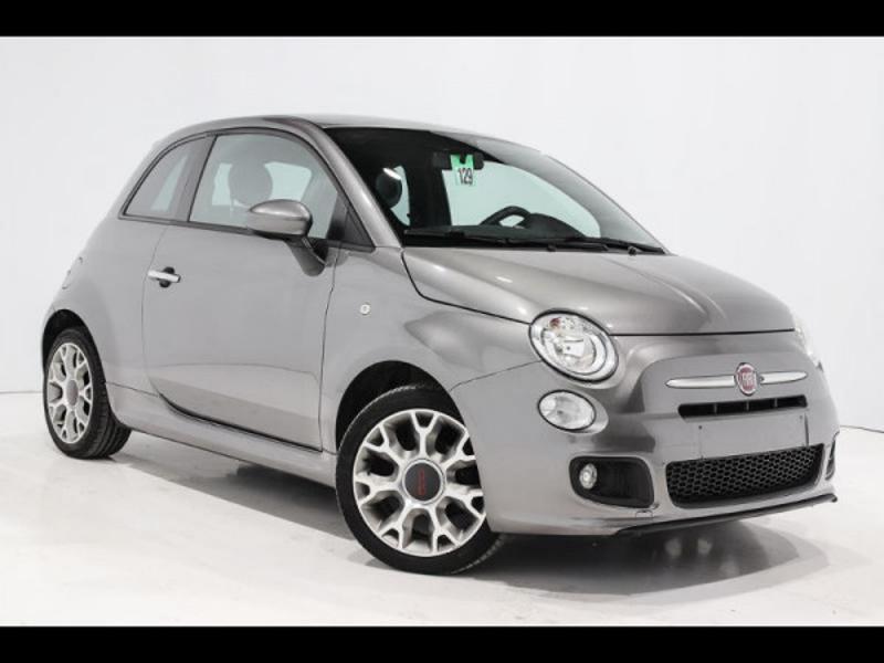 Photo 1 de l'offre de FIAT 500 1.2 8v 69ch S à 9490€ chez Autovia Véhicules Multimarques