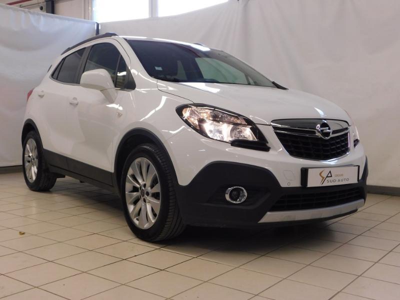 Opel Mokka 1.4 Turbo 140ch Cosmo Pack Auto 4x2 Essence blanc Occasion à vendre