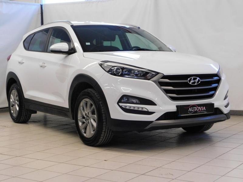 Hyundai Tucson 1.7 CRDI 115ch Executive 2WD Diesel blanc Occasion à vendre
